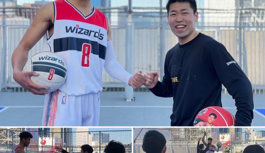 収録報告★八村塁選手ものまねタレント、澤井一希氏!